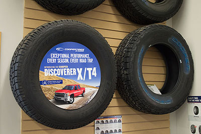 Cooper X/T4 Tires at Nu Line Auto - Meadow Lake, SK.